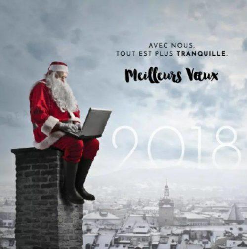 Que 2018 soit une année belle, légère et optimiste !