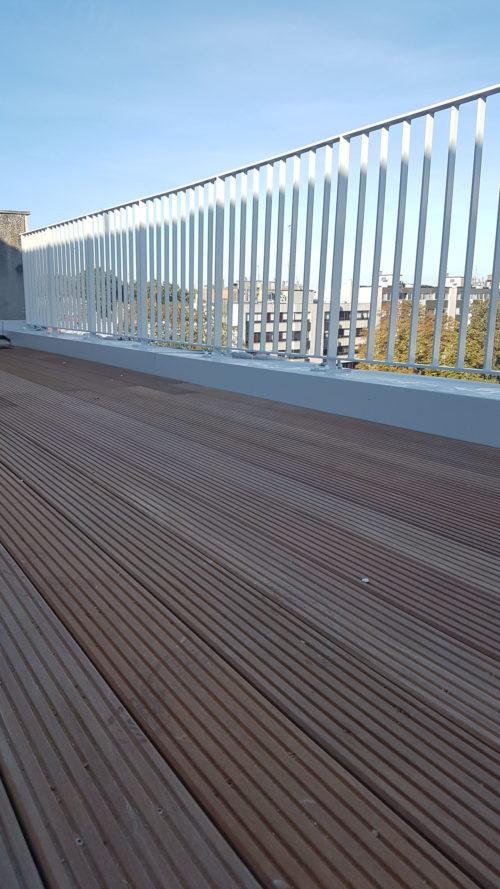 Habillage de terrasses de toutes natures